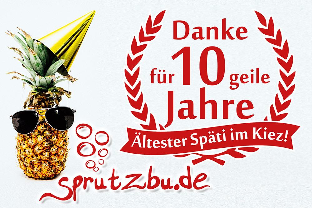 10 Jahre Sprutzbu.de